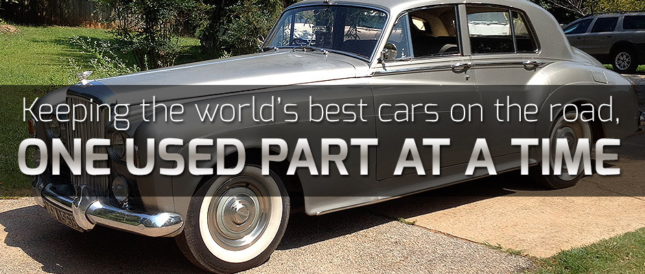 Used Cars Greenville Sc >> The Luxury Junkyard   Rolls Royce Parts and Bentley Parts