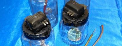 Glass Washer Fluid Jars