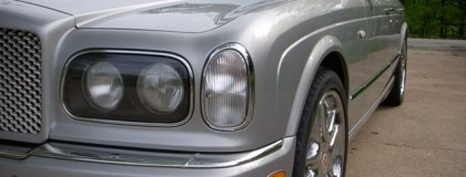 Arnage Headlights, Tail lights